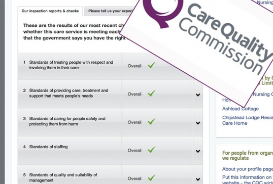 Care Unlimited Domcare fully compliant with CQC Requirements